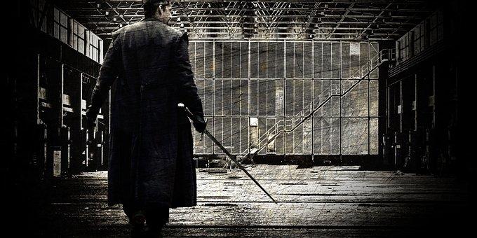 Legend, Man, Factory, Abandoned, Windows, Myth, Story