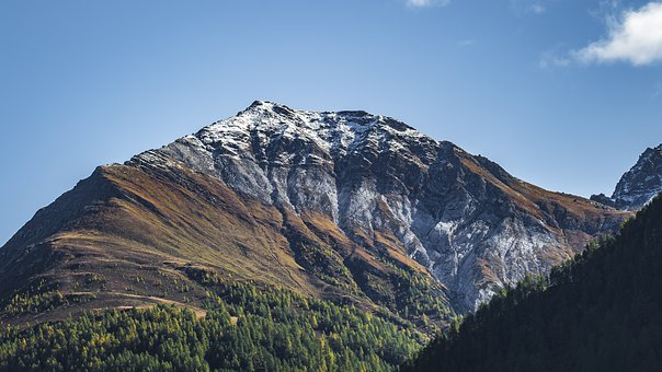 Alpine, Autumn, Landscape, Mountains, Nature, Panorama