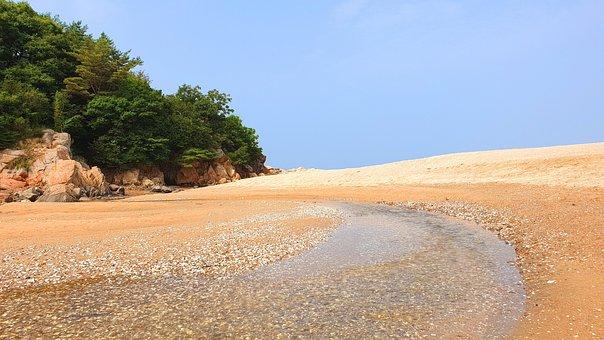 Beach, Sand, Sea, Seaside, Water, Holiday, Scenery