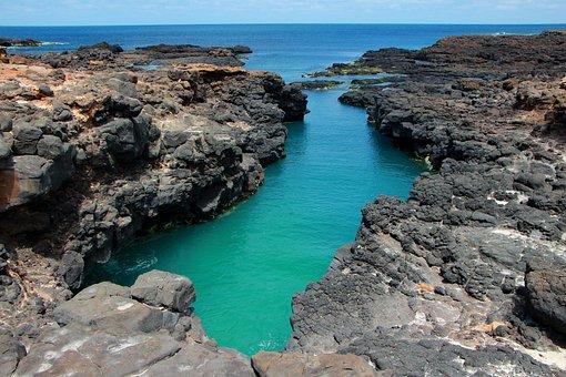 Rocky, Sea, Landscape