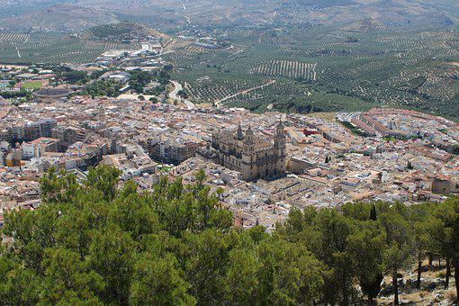 Jaen, Andalusia, Spain, Cathedral, Jaén, Sky