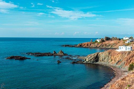 Pomos, Cyprus, Landscape, Tourism, Sea, Sky, Cliff