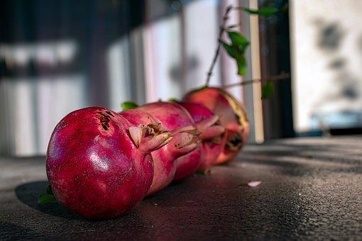 Pomegranate, Fruits, Vitamins, Harvest, Healthy, Food
