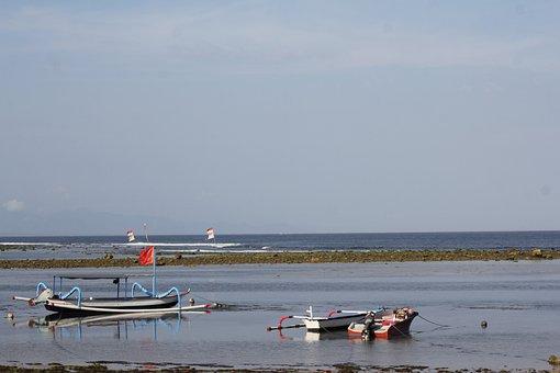 Beach, Boat, Sky, Sea, Travel, Sunset, Water, Ocean