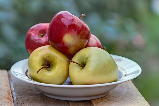 Apples, Apple, Harvest, Fruit, Vitamins, Autumn, Red