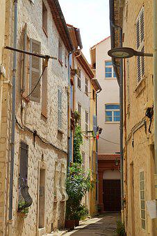 France, Antibes, Summer, Architecture, Building