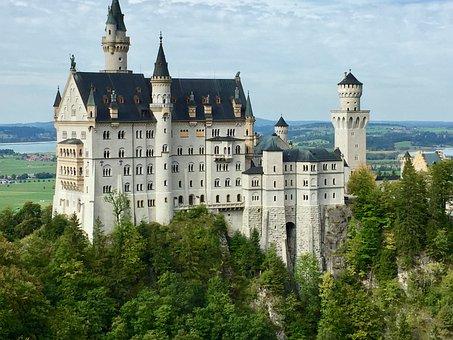 Castle, Bavaria, Kristin, Places Of Interest