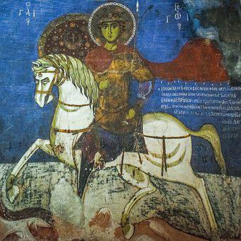St George, Iconography, Painting, Byzantine, Church