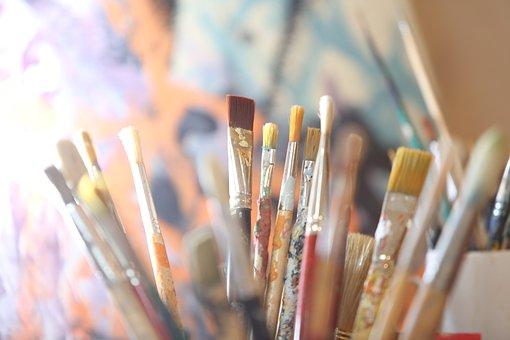 Painter, Brush, Art, Painting, Paint, Color, Artists
