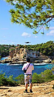Man, Human, Drone, Photograph, Film, Vacations, Travel
