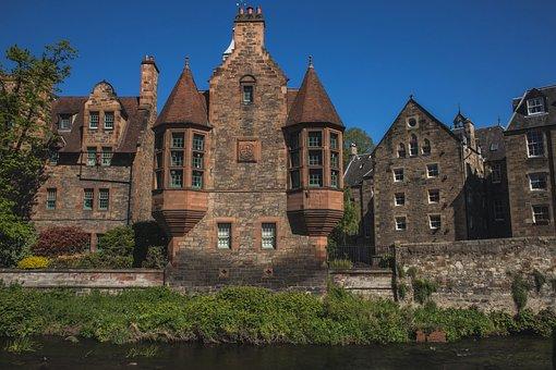 Dean Village, Edinburgh, Scotland, House, Attraction