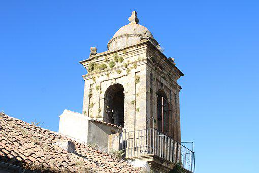 Tower, Bell Tower, Martos, Jaen, Andalusia, Spain