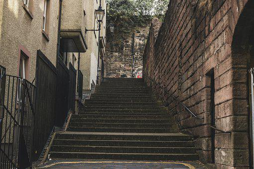 Stairs, Path, Stairway, Steps, Pathway, Alley, Walking