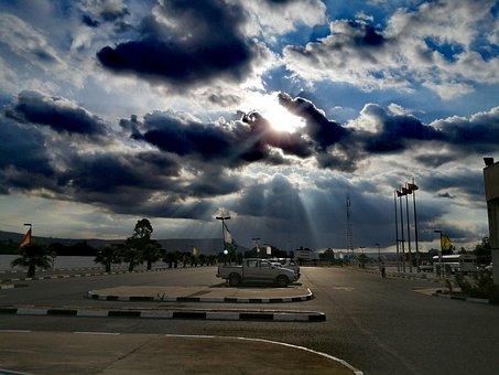 Sunset, Angola, Clouds