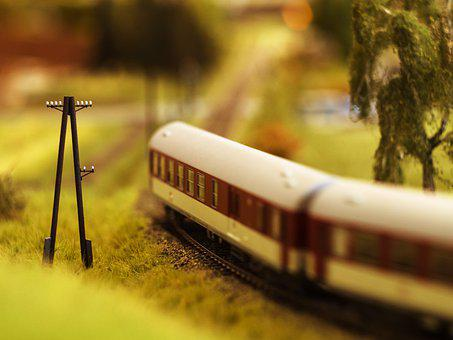 Train, Model, Railway, Photoshoot, Toys
