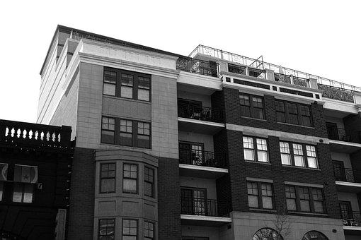 B W, Building, Architecture, Black, City, White, Nyc