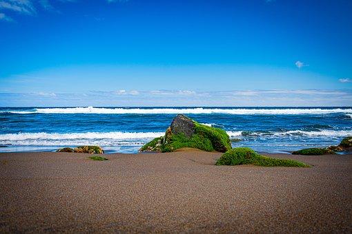 Azores, Beach, Landscape, Nature, Bay, Horta, Ocean