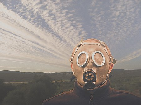 Chemtrails, Gas Mask, Contrail, Environment