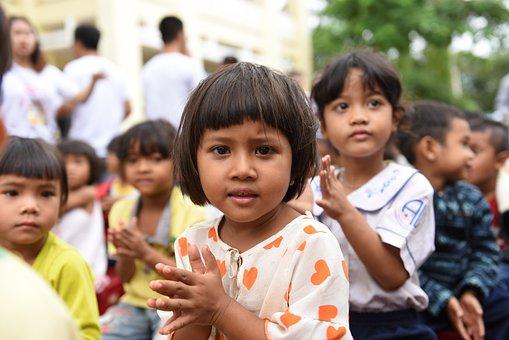 Children, Spring, Nation, Asia, People, Child