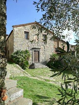 Church, Tuscany, Holiday, Nature, Borgo, Ancient