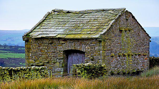 Barn, Rural, Farm, Countryside, Country, Nature