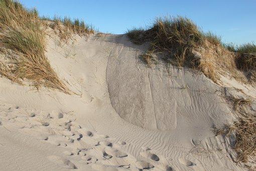 Dunes, Sand, Beach, Coastal