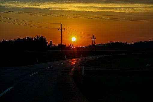 Sunset, Evening, Nature, Dusk, Mood, Twilight, Scenic