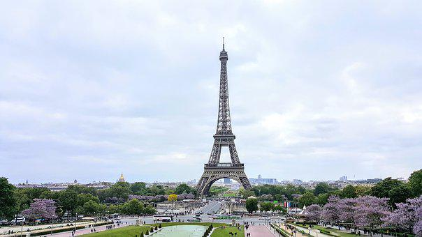 Paris, May, France, Architecture, Eiffel Tower, Europe