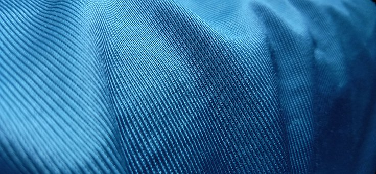Elegant, Fabric, Blue