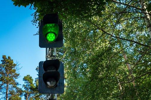 Railway, Traffic, Green, Traffic Signal, Signal Light