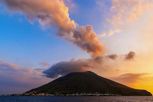 Stromboli, Aeolian Islands, Sicily, Sea, Italy, Trip