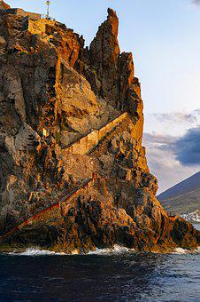 Aeolian Islands, Sicily, Italy, Volcano, Nature
