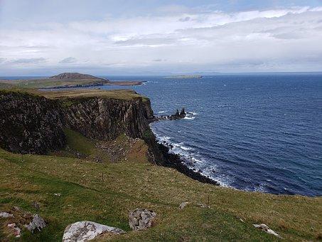 Scotland, Isle Of Skye, Uk, Landscape, Nature