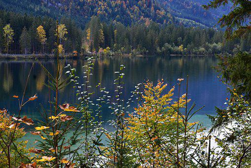 Nature, Bavaria, Ramsau, Lake, Mood, Upper Bavaria
