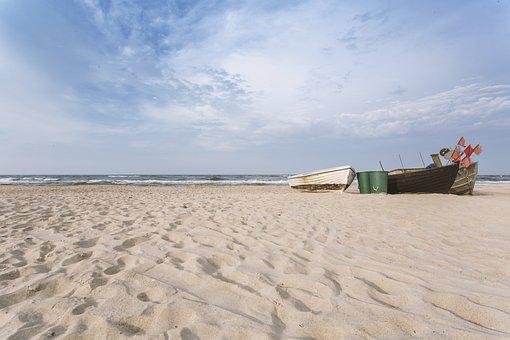 Beach, Water, Ocean, Summer, Vacations, Coast, Sand