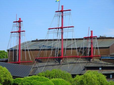 Wasa, Wasamuseum, Stockholm, Sweden, Ship Wreck