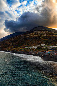 Stromboli, Italy, Islands, Holidays, Island, Summer