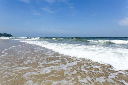 Beach, Water, Sand Beach, Sea, Summer, Vacations, Coast
