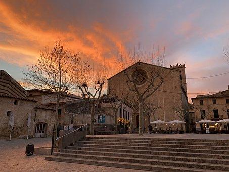 Sunset, Historic Center, Mallorca