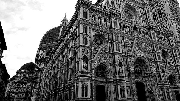 Italy, Florence, Tuscany, Church, Architecture, City