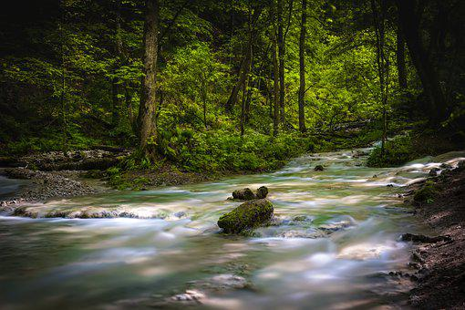 River, Long Exposure, Water, Nature, Landscape