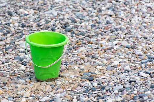 Background, Beach, Bright, Bucket, Coast, Fun, Green