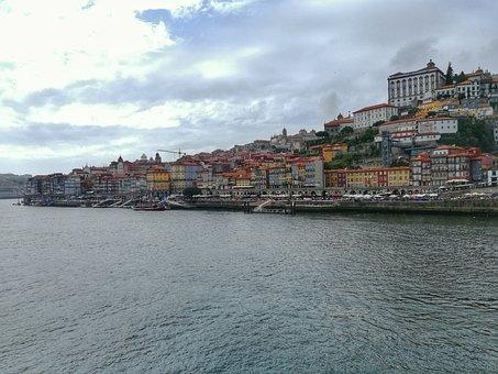 Porto, Ocean, Sea, Sky, Boats, Holiday, Tourism