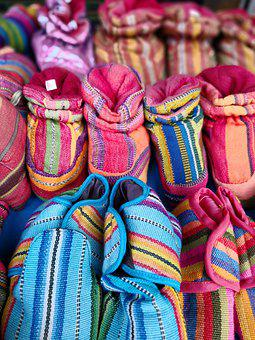 Shoes, Fabric, Crafts, Color, Children, Small