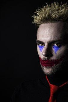 Joker, Clown, Halloween, Horror, Evil, Devil, Demon