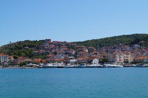 Croatia, Ba, Landscape, Nature, Sea, Colors, Holidays
