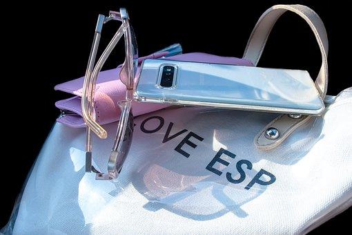 Bag, Glasses, Handsomely, Woman, Sunglasses, Girl
