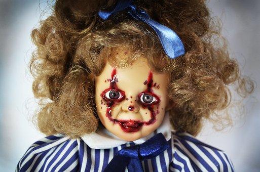 Horror, Horror Doll, Horror Girl, Horror Clown