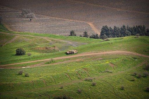 Israel, Golan Heights, Judea, Samaria, Tank, Hulk