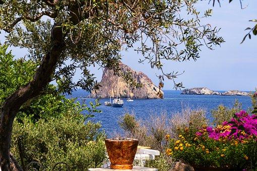 Aeolian Islands, Sicily, Italy, Landscape, Holiday